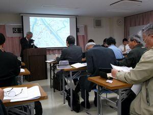 区画整理・再開発連絡会議 学習会2013年11月、2,3日