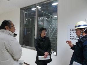 長岡 バイオガス化施設2014年1月29日