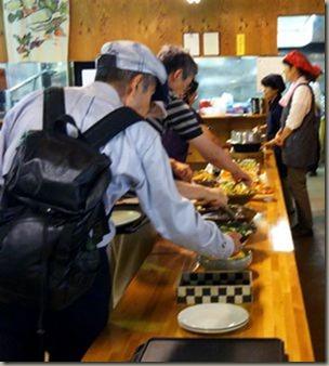 2017年多古町地場野菜の昼食バイキング自治体学校